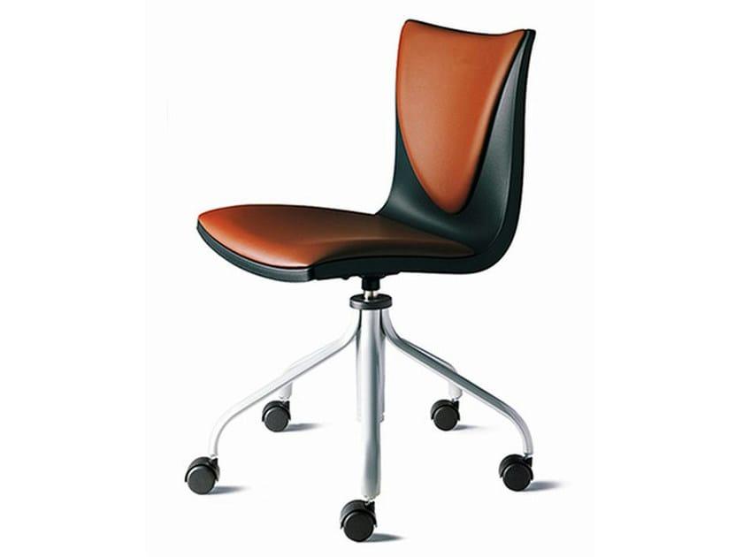Swivel task chair with 5-Spoke base TALK | Task chair - ENEA