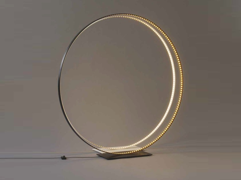 LED direct-indirect light table lamp LA MEGA 120 by Le Deun Luminaires