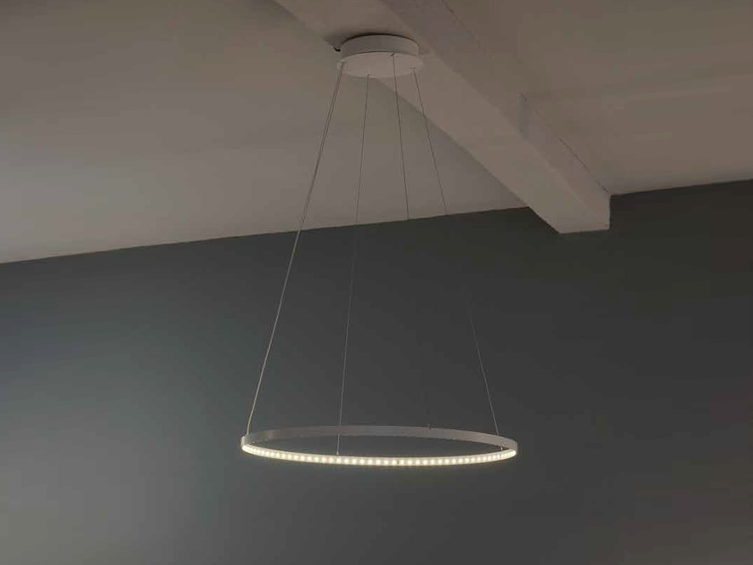 LED direct-indirect light pendant lamp CIRCLE 30 - Le Deun Luminaires