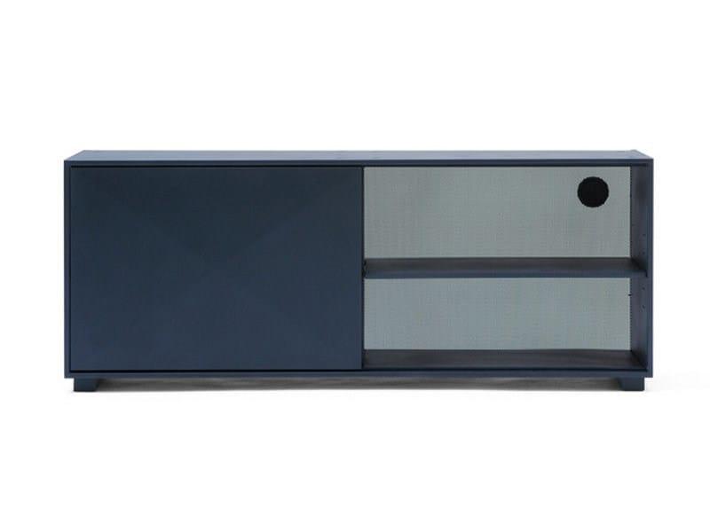 Modular steel office storage unit DIAMANT | Steel sideboard - Tolix Steel Design