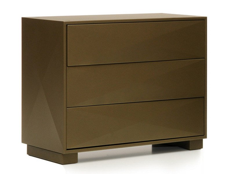 Free standing metal chest of drawers DIAMANT | Chest of drawers - Tolix Steel Design