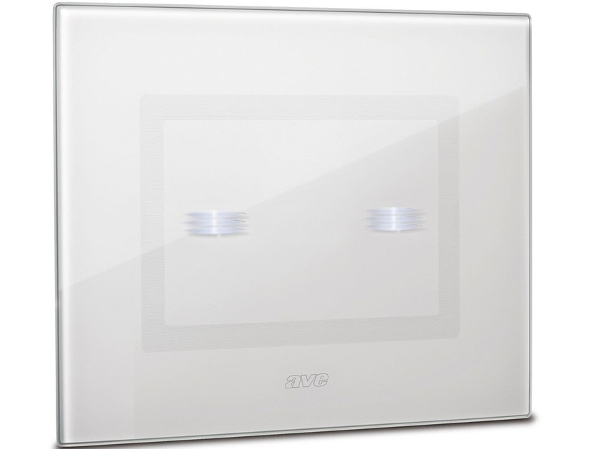 Glass electrical socket DOMUS TOUCH - AVE