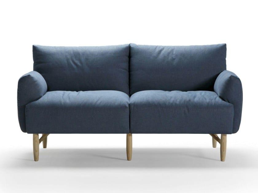 Fabric small sofa COPLA | Small sofa - SANCAL