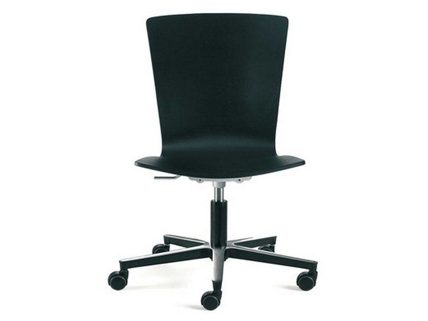 Task chair with 5-Spoke base with casters LOGICA | Task chair - ENEA