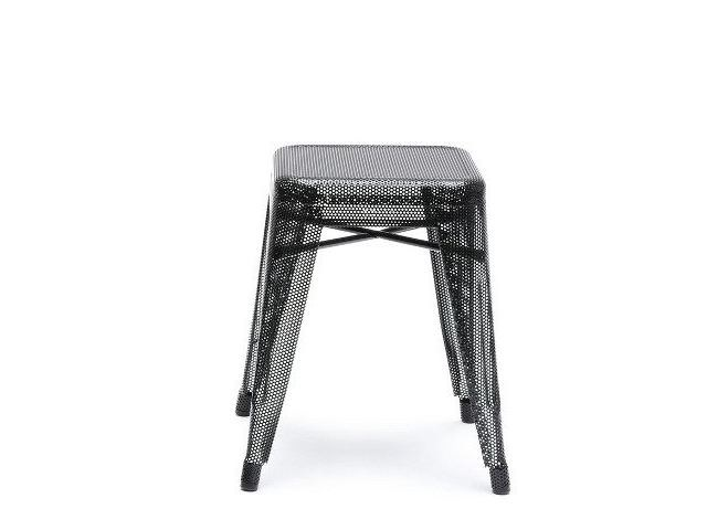 Low steel stool H | Low stool by Tolix