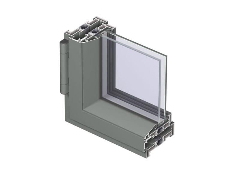 Aluminium casement window Concept System 24-SL by Reynaers Aluminium