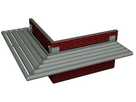 Sunscreening system for facade BS 30 - Reynaers Aluminium