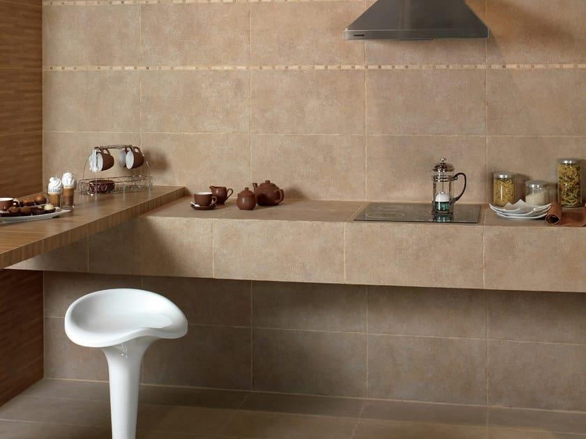 Porcelain stoneware wall tiles PETRA - CATANIA by REALONDA