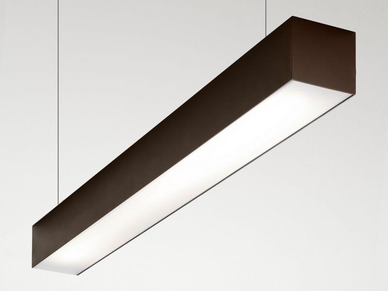 Extruded aluminium pendant lamp FILE 2 | Pendant lamp by LUCIFERO'S
