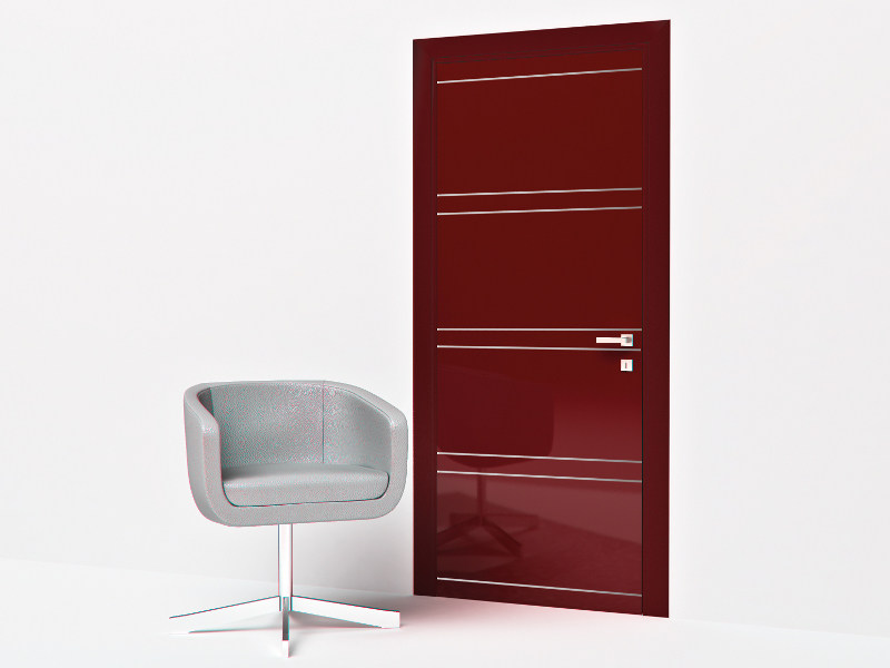 Hinged lacquered door CL ALL8 by Bertolotto Porte