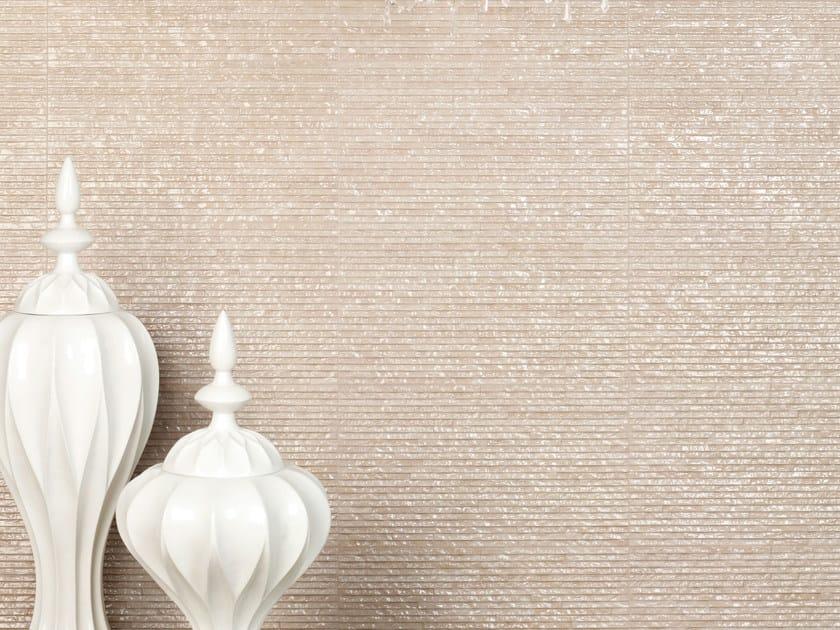 Porcelain stoneware mosaic GLOSSY NIAGARA - REALONDA