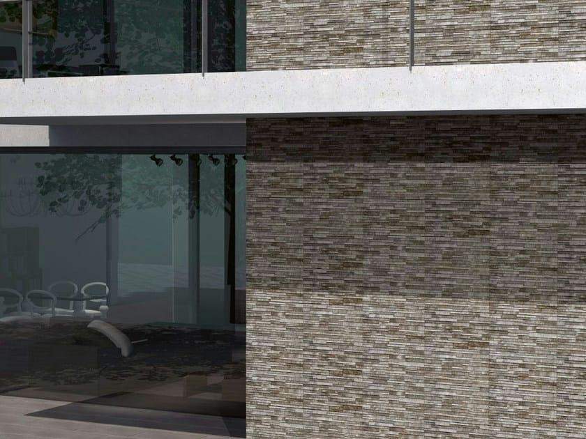 Outdoor porcelain stoneware wall tiles MINDANAO - REALONDA