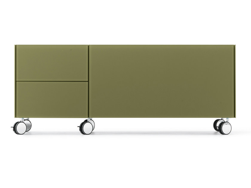 Office drawer unit with casters AIR WHEEL - Gallotti&Radice