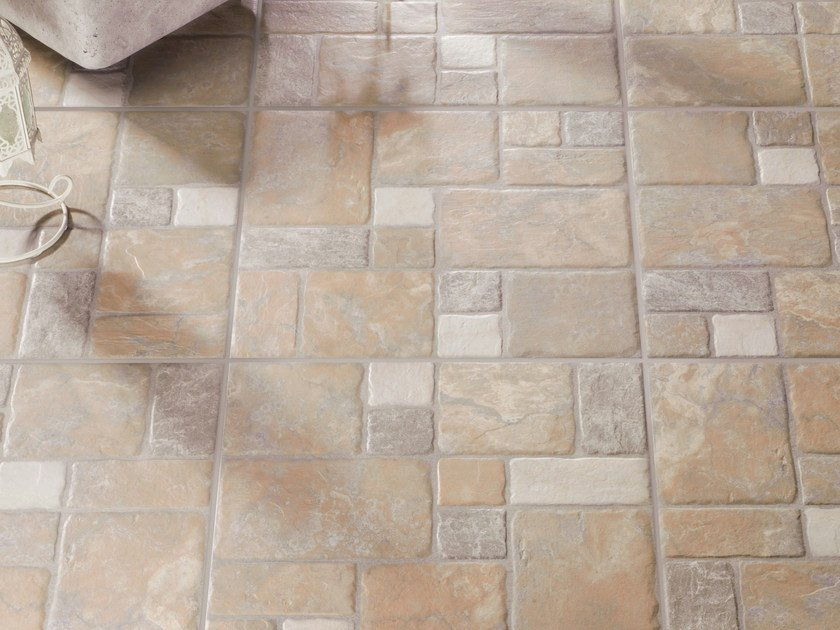 Porcelain stoneware outdoor floor tiles LATINO by REALONDA