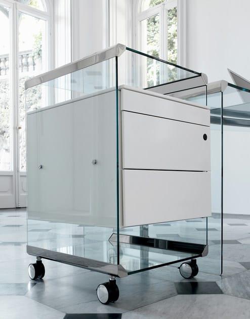 Cassettiera ufficio con ruote movie metal gallotti radice for Cassettiere ufficio