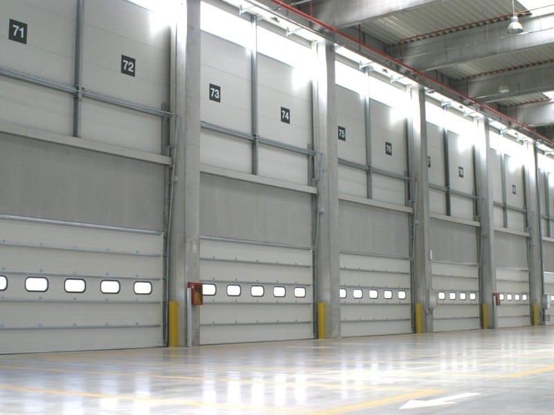 Motorised industrial door FIDELITY® - CAMPISA