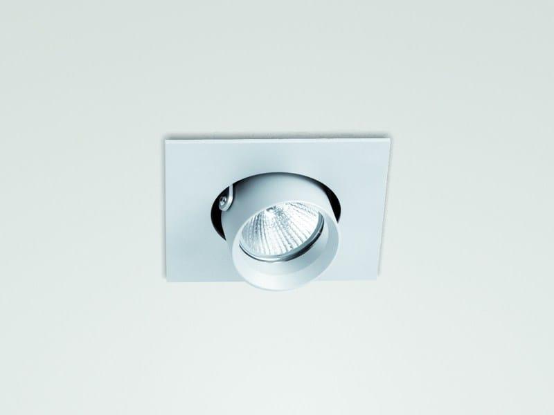 Recessed adjustable spotlight QU - LUCIFERO'S