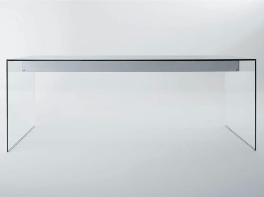 Crystal writing desk AIR DESK | Writing desk by Gallotti&Radice