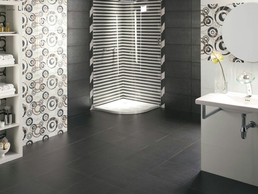 Porcelain stoneware wall/floor tiles LINO by REALONDA