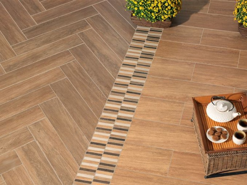Porcelain stoneware flooring SENEGAL by REALONDA