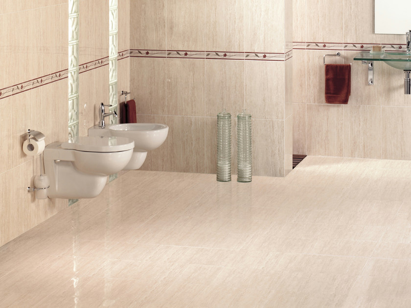 Red-paste flooring TRAVERTINO - REALONDA