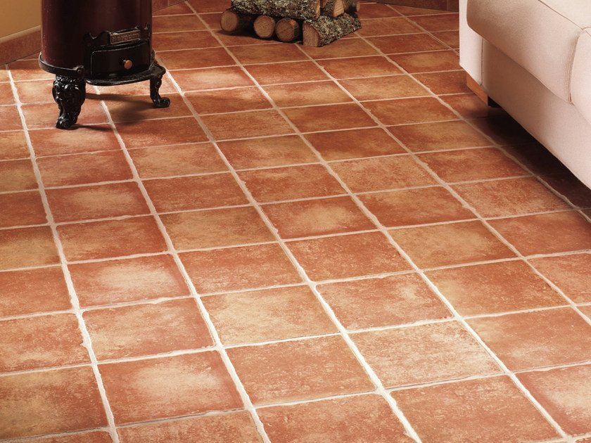 Red-paste flooring DHALY by REALONDA