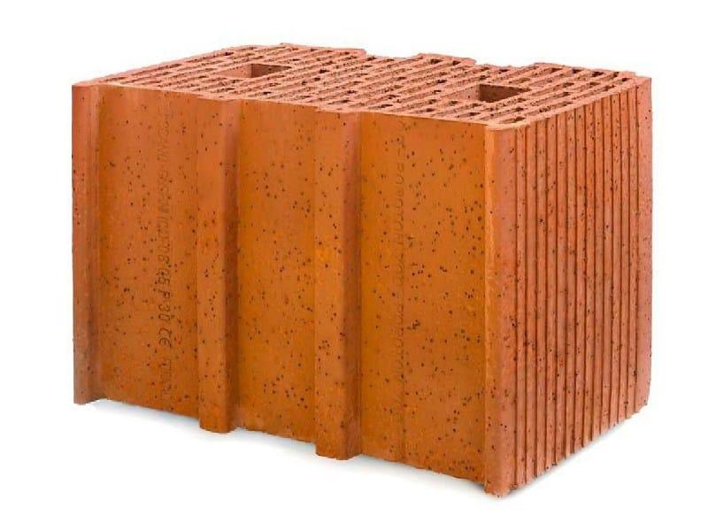 Clay building block POROTON 700-38.5 Dlgs 311 - FORNACI SCANU