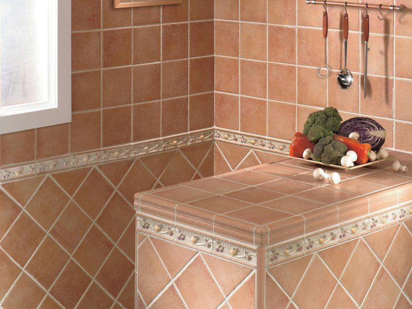 Red-paste wall/floor tiles DUNA by REALONDA