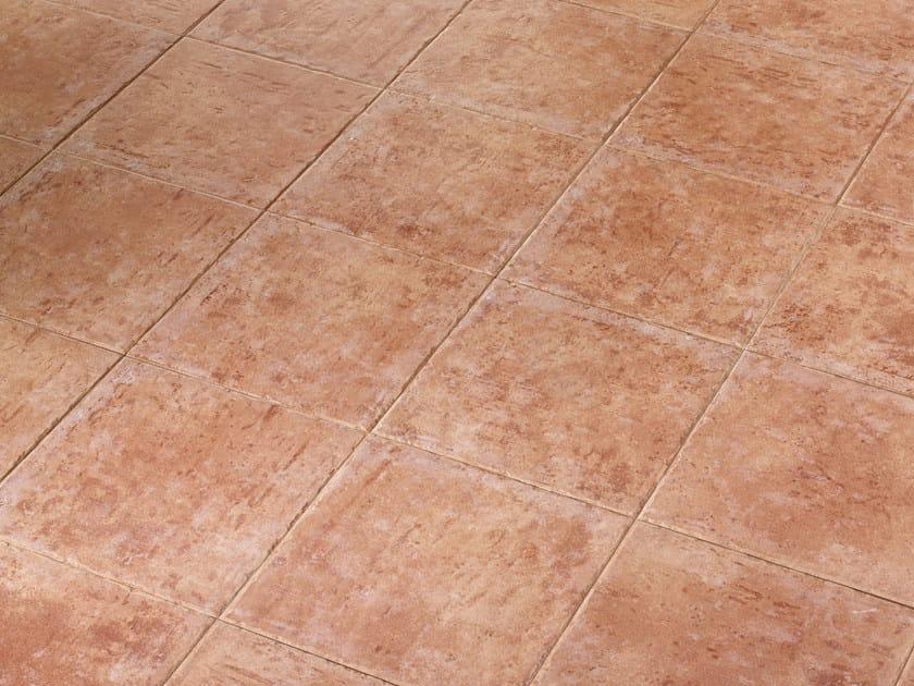 Red-paste flooring BARROS - REALONDA