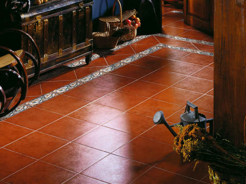 Red-paste flooring PASO - REALONDA