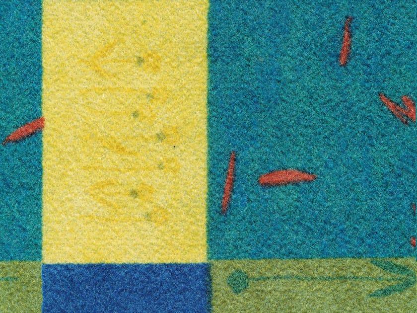 Resilient flooring QUADRO - TECNOFLOOR Industria Chimica