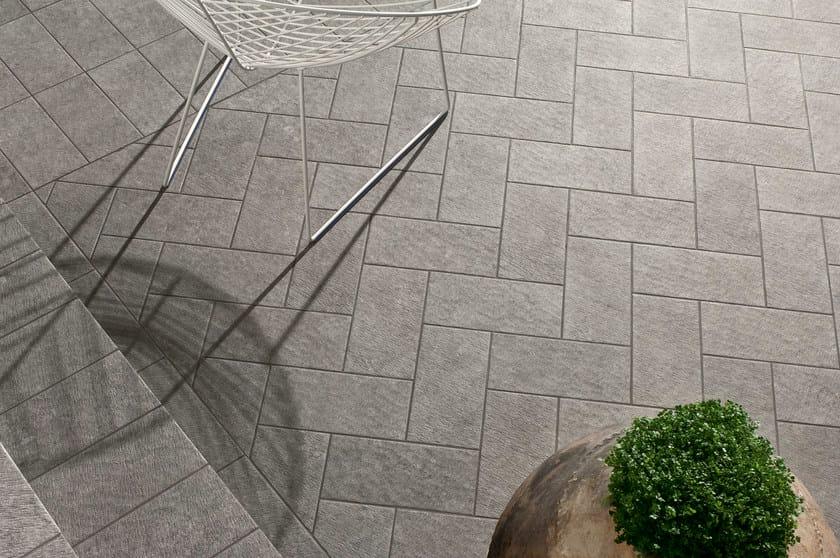 Pavimento per esterni walk on ceramiche caesar - Piastrelle di pietra per esterni ...