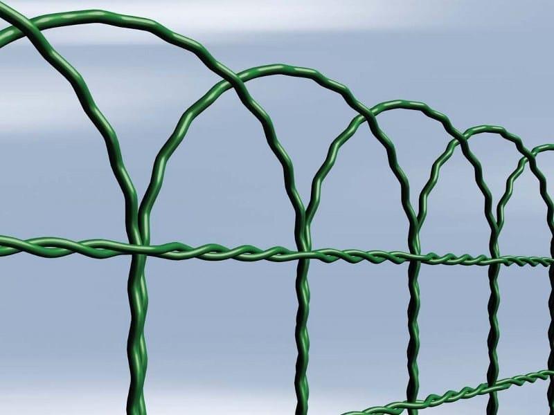 Recinzione plastificata in rete metallica arcoplax for Recinzione aiuole