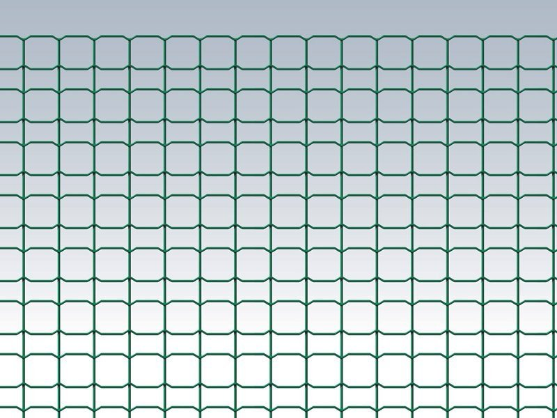 Plastic electrically welded mesh Fence DECOPLAX BRICOLINE 10 M - Gruppo CAVATORTA