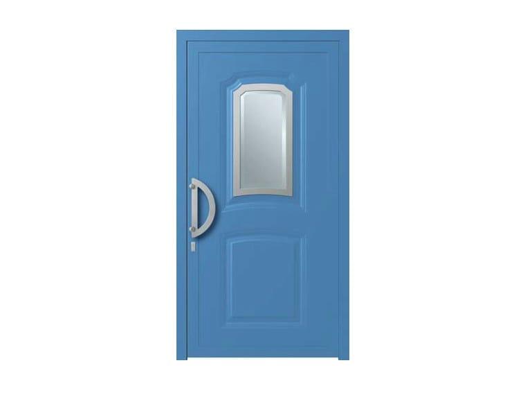 Glass and aluminium door panel KLIO/X1 - ROYAL PAT