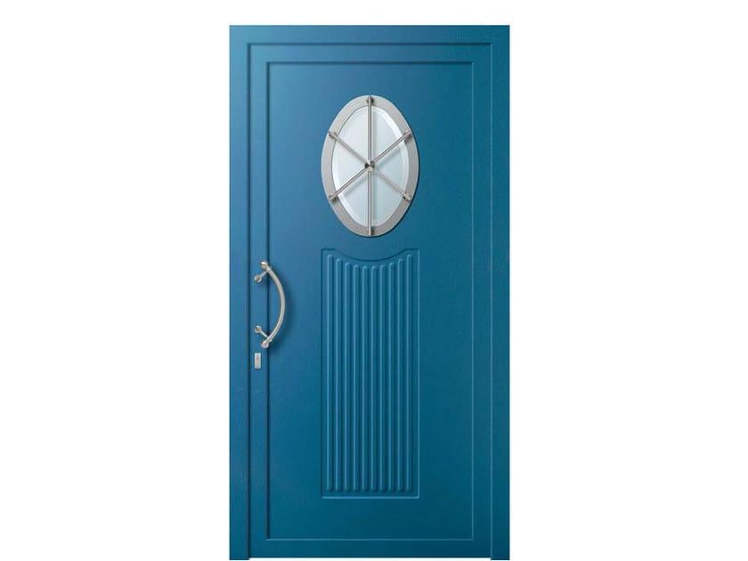 Glass and aluminium door panel MOON/X1 - ROYAL PAT