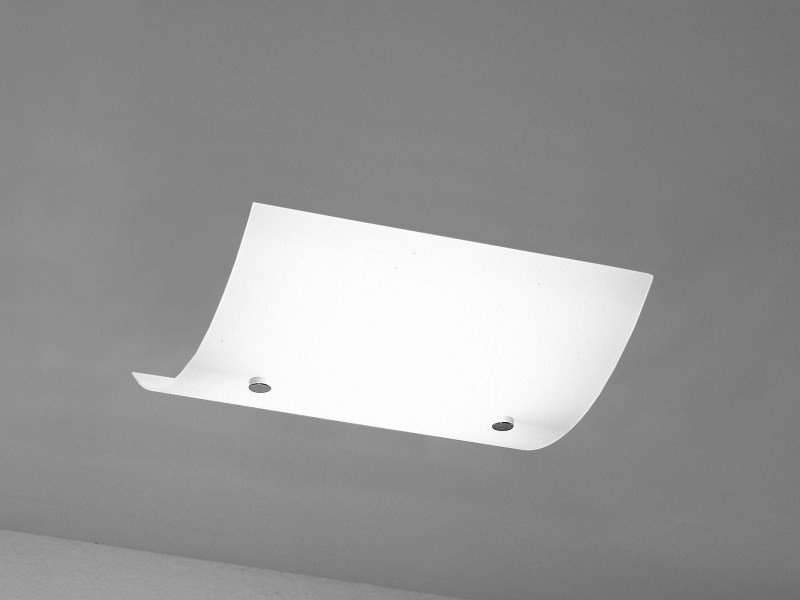 Direct light tempered glass ceiling lamp FLAG | Ceiling lamp - LUCIFERO'S