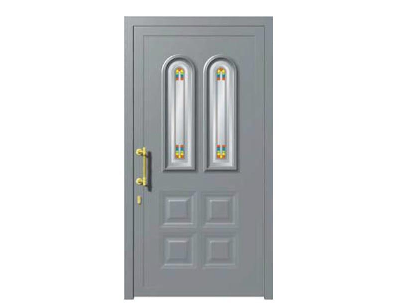 Glass and aluminium armoured door panel ALFAIR/K2 - ROYAL PAT