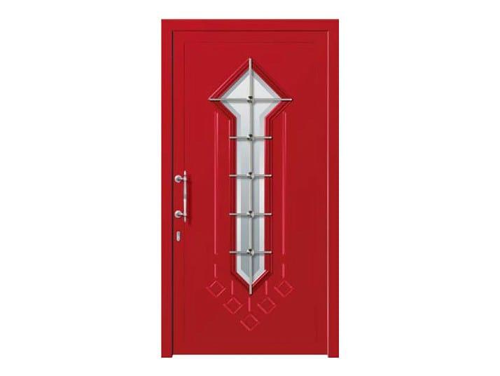 Glass and aluminium armoured door panel DORADO/KB1 - ROYAL PAT