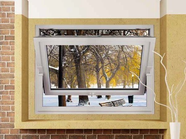 PVC horizontally pivoted window Horizontally pivoted window - Schulz Italia