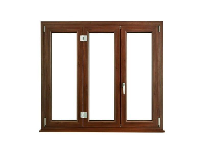 PVC casement window Casement window - Schulz Italia