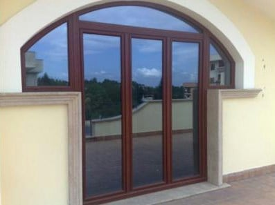PVC window Arched window - Schulz Italia