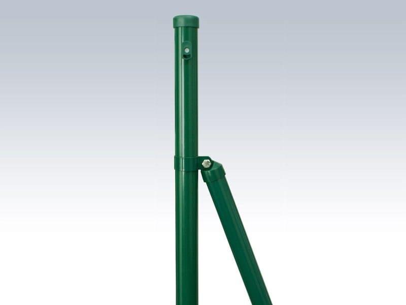 Plastic galvanized steel Fence PALI TONDI PLASTIFICATI - Gruppo CAVATORTA