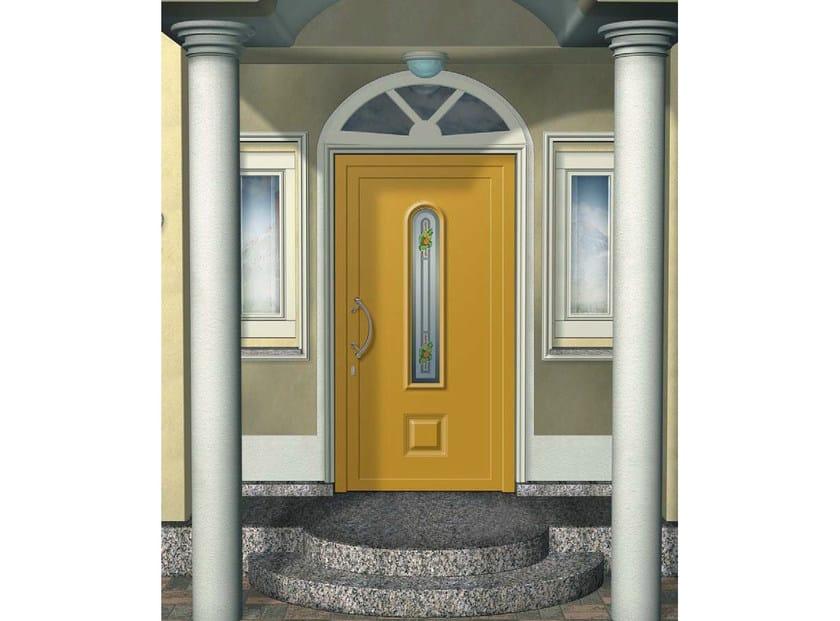 panneau en aluminium et verre pour porte d 39 entr e rigel km1 collection aluform classica by. Black Bedroom Furniture Sets. Home Design Ideas