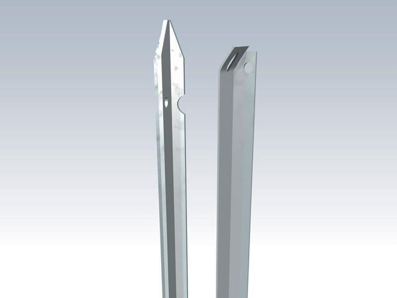 Galvanized steel Fence PALETTI A T ZINCATI - Gruppo CAVATORTA