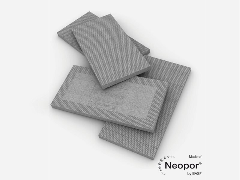 Neopor® thermal insulation panel TÈRMIKO® by MPE