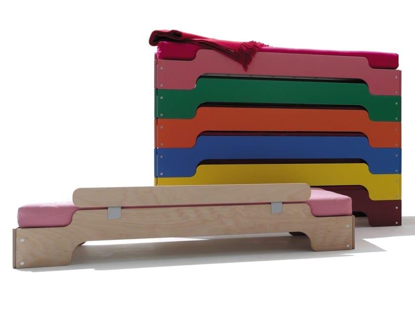 Stackable bed for kids' bedroom BED FOR KIDS' BEDROOM by Müller Möbelwerkstätten