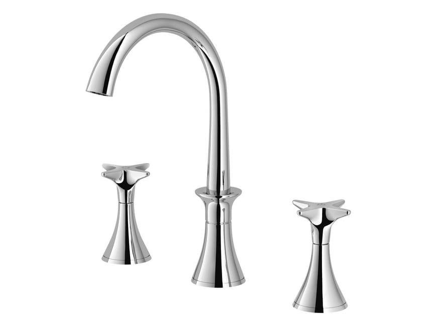 3 hole washbasin tap 130 | 3225 by RUBINETTERIE STELLA