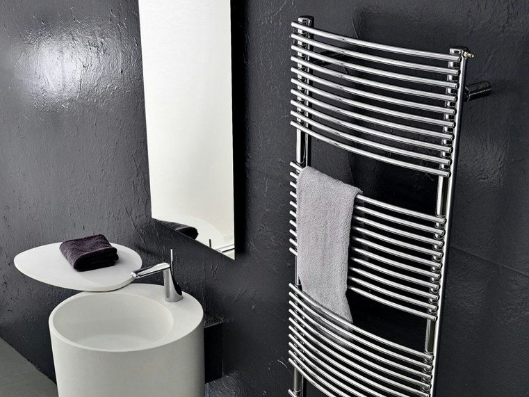 Wall-mounted carbon steel towel warmer BD_BEND - ANTRAX IT radiators & fireplaces