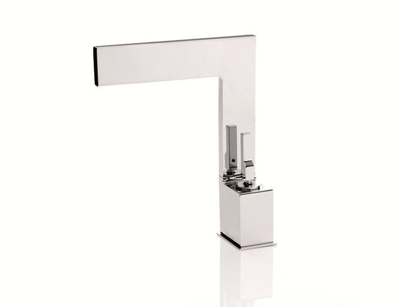 Single handle washbasin mixer TETRIS | Washbasin mixer - RUBINETTERIE RITMONIO